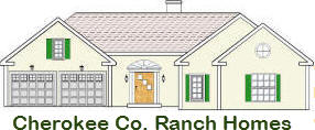 Cherokee County GA Ranch homes for sale - 1 story homes