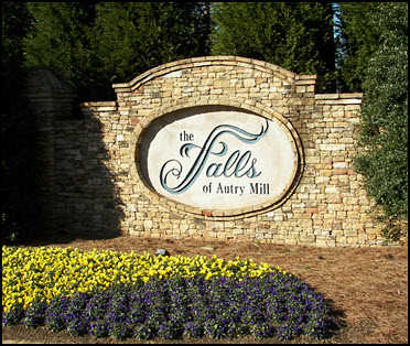 The Falls of Autry Mill Homes for Sale