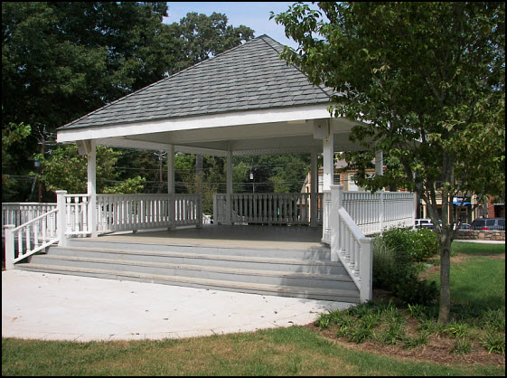 Roswell Square band Shell